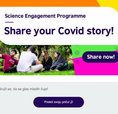 Podeli svoju COVID priču